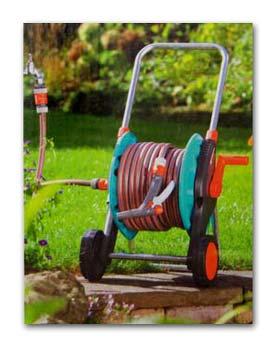 Gardena Hose Reel Trolley