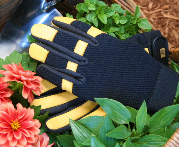 Gloves Garden SoftTouch GOLD LEAF