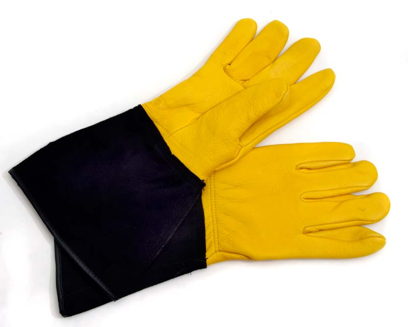 Gloves Garden ToughTouch GOLD LEAF - full wrist and forearm protection