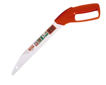 Pruning saw with knuckle protector