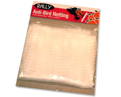Rally Anti-Bird Net - the 4mx4m pack