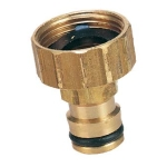 Brass 12mm click-on tap adaptors NETA