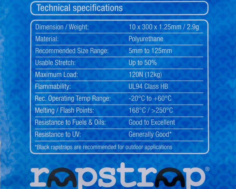 Technical specification for Rapstrap