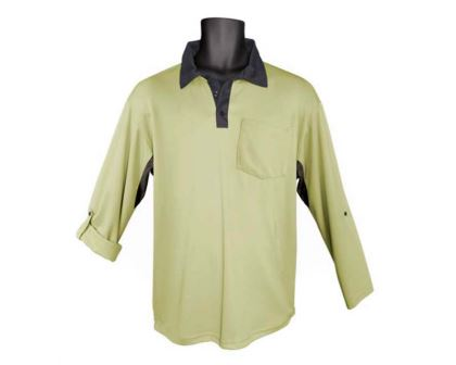 Classic Polo Shirt in Moss - Sun Protection Australia