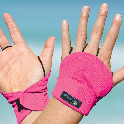Palmless Glove - Back of hand protector - Hot Pink