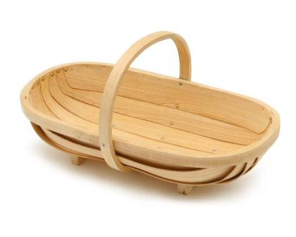 Wooden Garden Trug - Burgon & Ball  comes in two sizes Large and Medium