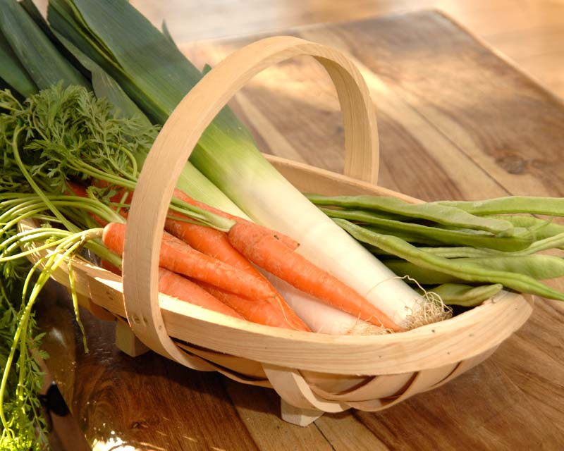 Wooden Garden Trug - perfect for harvested vegetables