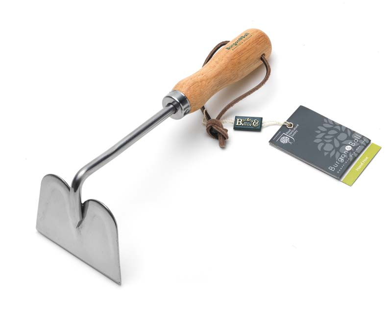 Stainless steel Hand Hoe - part of the Classic Hand Tool range from Burgon & Ball