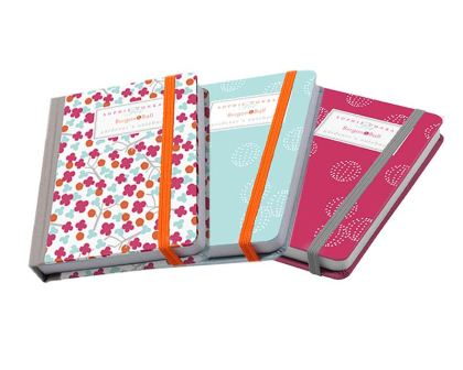 Gardener's Notebooks by Sophie Conran  available in raspberry and blue
