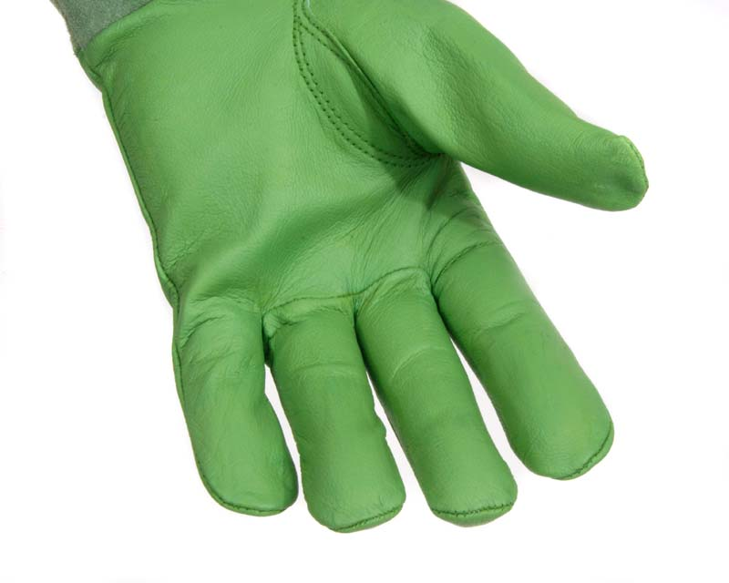 Scratch Protector Gloves - made from quality leather for durability.