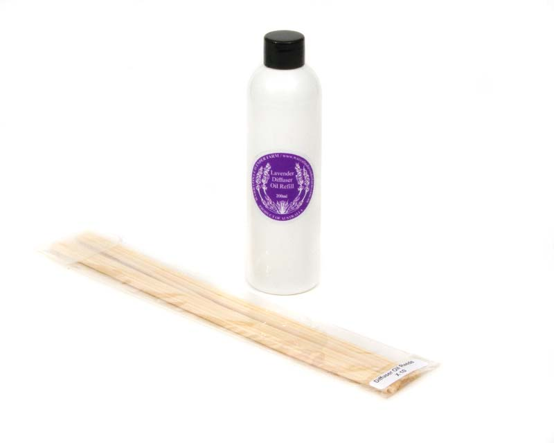 Lavender diffuser oil and reeds