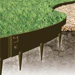 Flexible Steel Garden Edging Galvanised and Powder Coated - Everedge