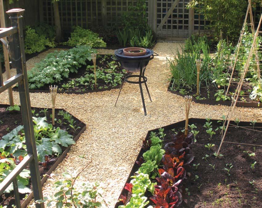Even good for veggie gardens