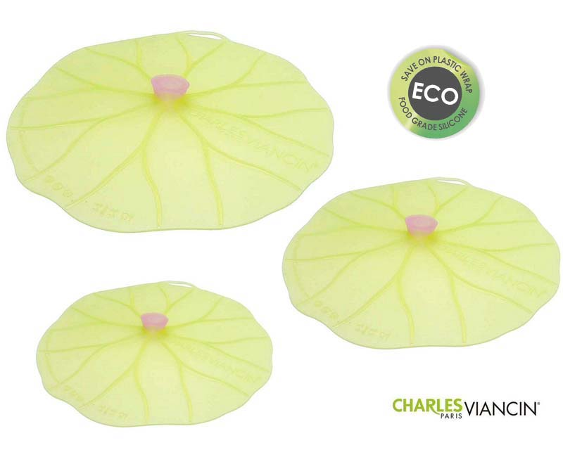 Lilypad lids by Charles Viancin are available in a wide variety of sizes
