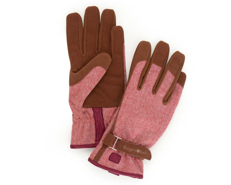 Love the Glove - Red Tweed