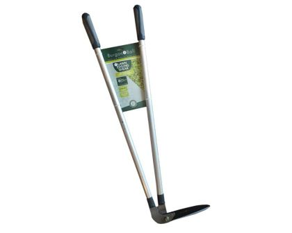 Long handled lawn edging shears by Burgon and Ball