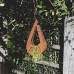 Hanging Teardrop Planter