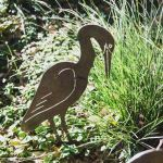 Egret bird - Decorative Garden Art