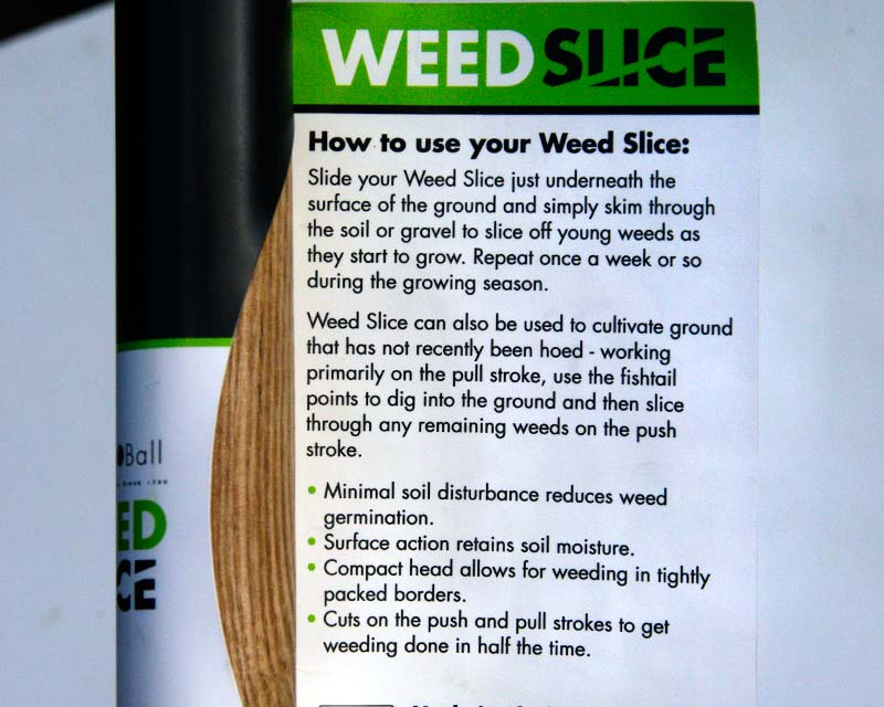 Weed Slice label