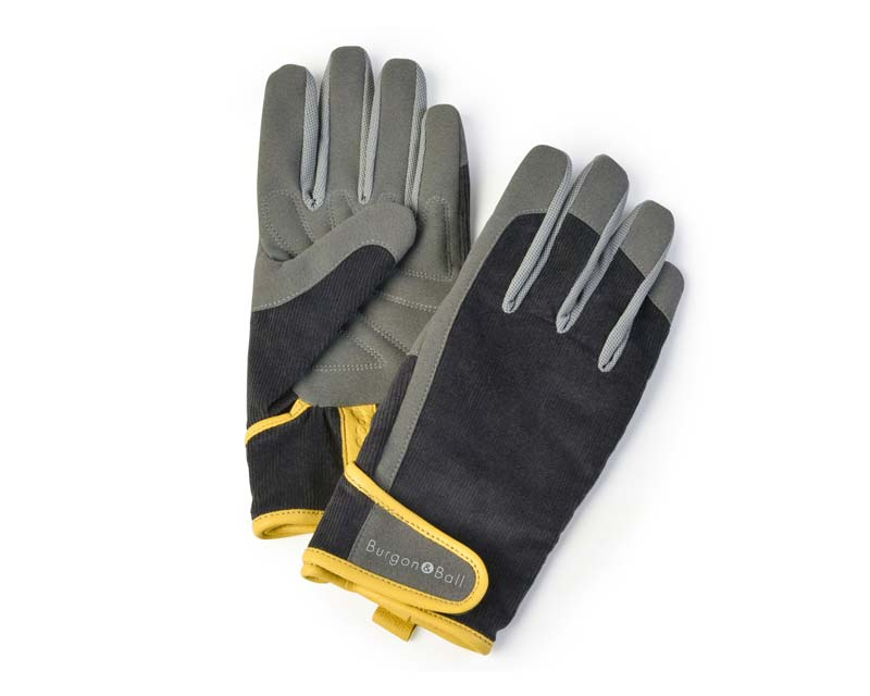 Burgon and Ball - Dig the Glove in Grey Corduroy