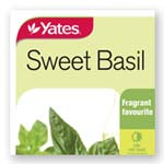 Basil Sweet Seeds - Yates
