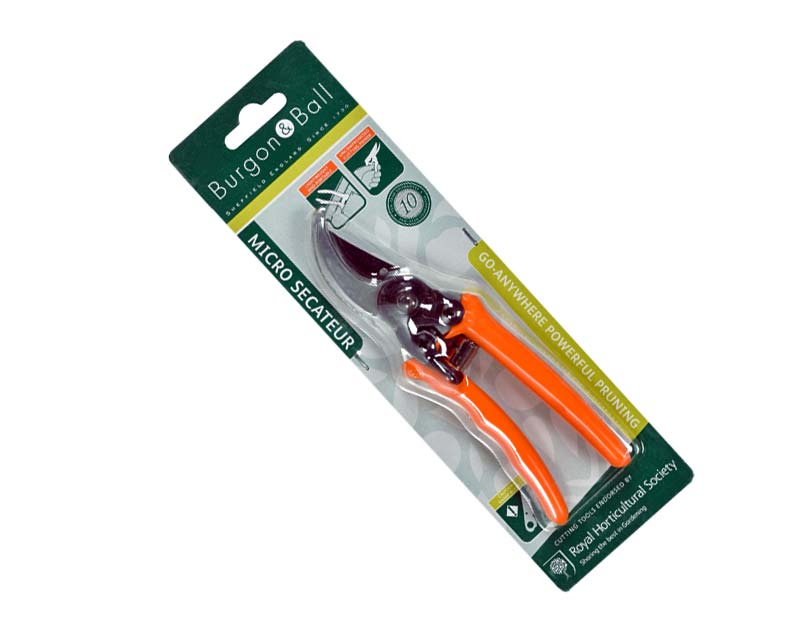 New RHS endorsed Micro Secateurs for small hands