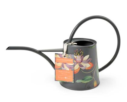Indoor 1 litre watering can 'Passiflora' design by Burgon and Ball