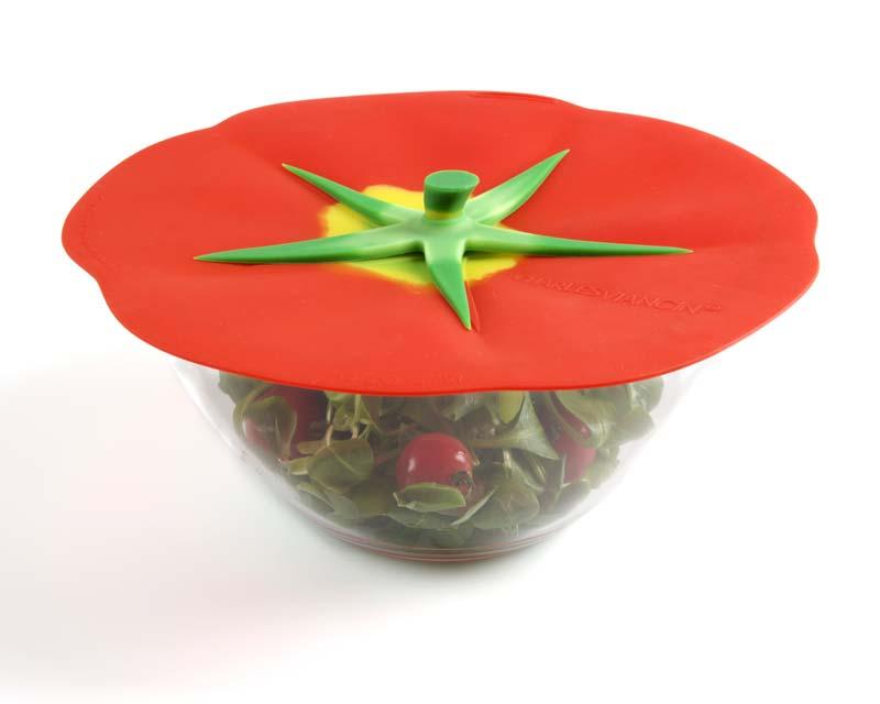 Charles Viancin Silicone Lids Farmer's Market range - Tomato 23cm
