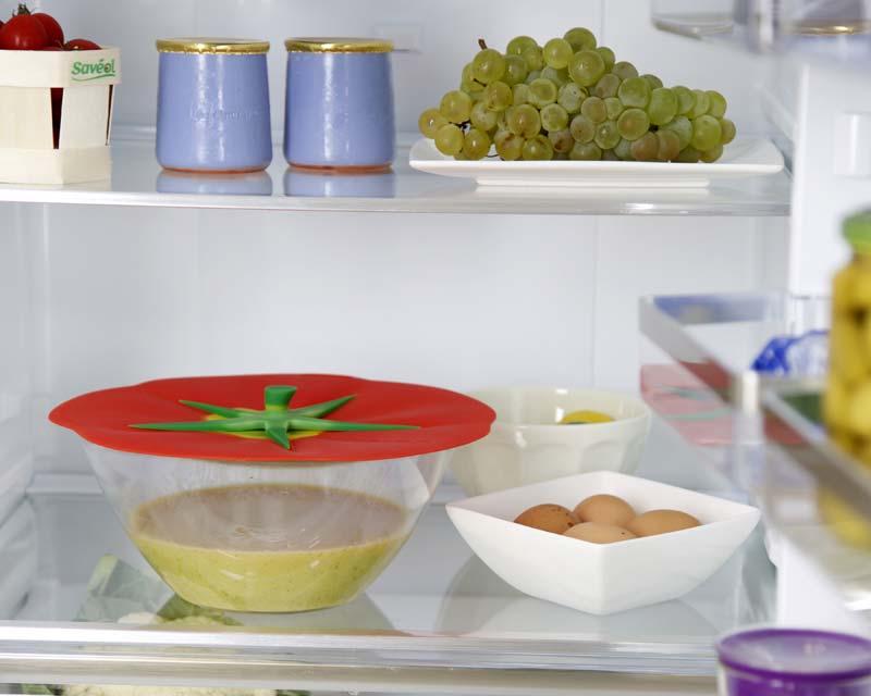 Charles Viancin Farmer's Market range of Silicon lids - medium size Tomato Lid 23cm