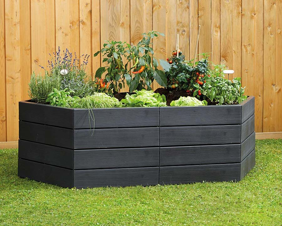 Ergo raised garden beds - 2 sets = 50cms high