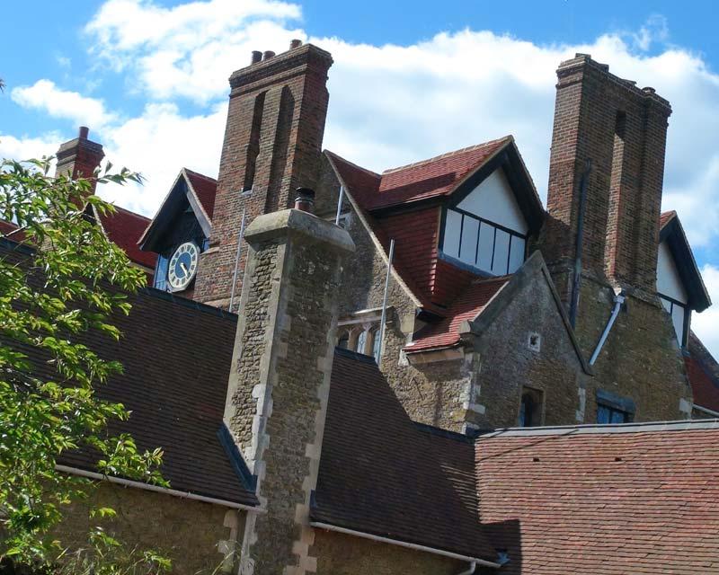 Loseley rooftops