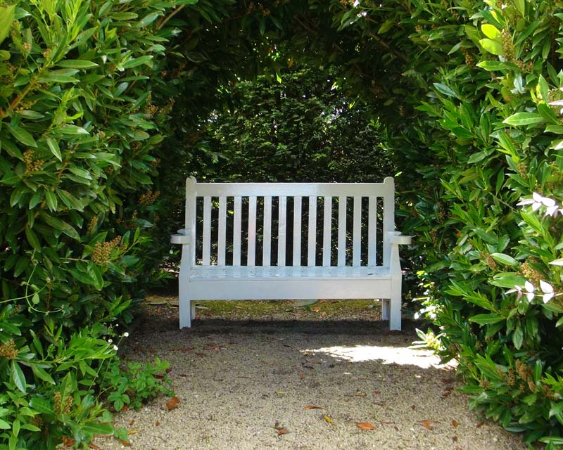 Losely Park, many delightful nooks and crannies to rest a while and enjoy the vistas