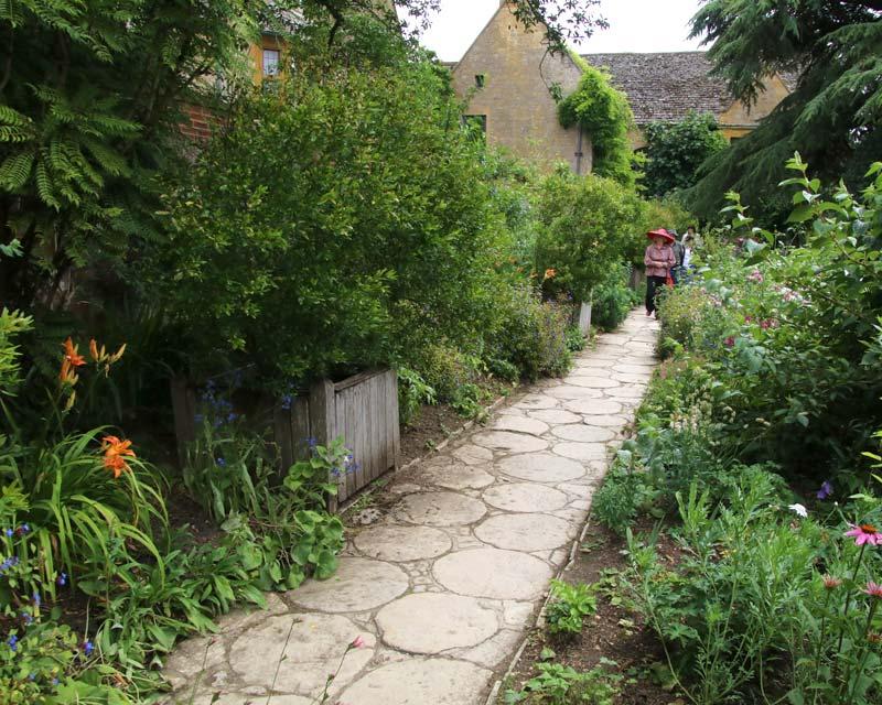 HIdcote Old Garden Path