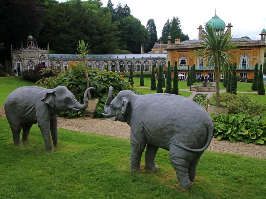 Sezincote Elephant statues