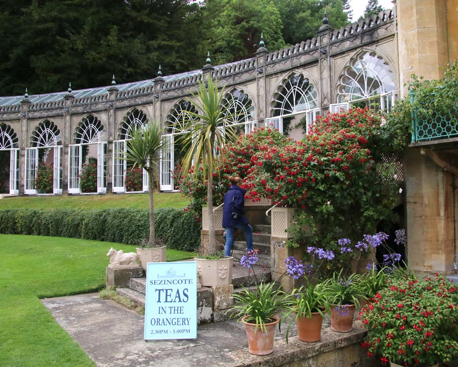 Sezincote Teas In The Orangery