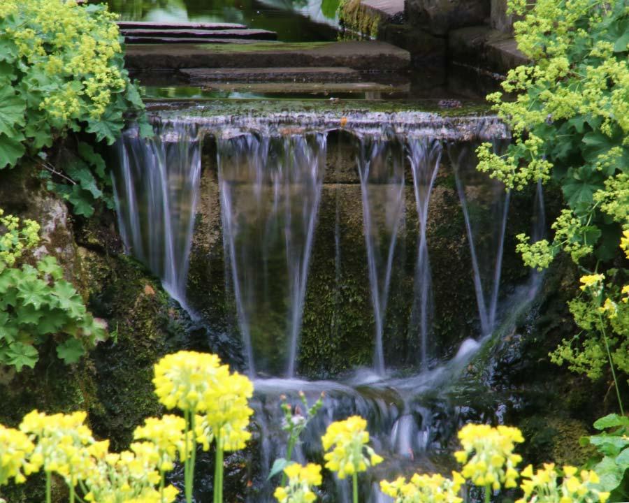 Sezincote waterfall