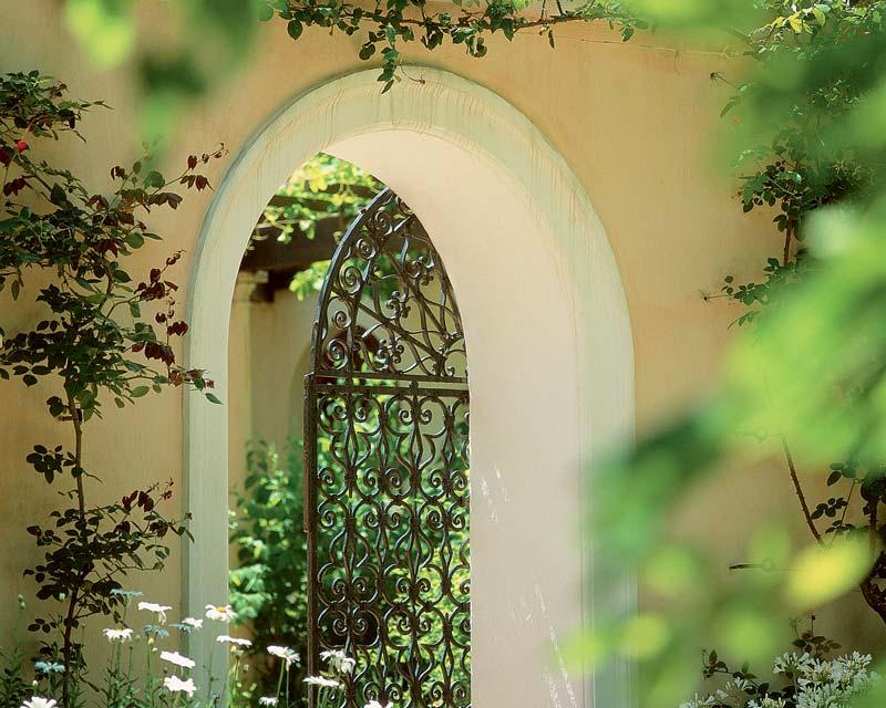 Archway gate- photo supplied by Vergelegen Estate