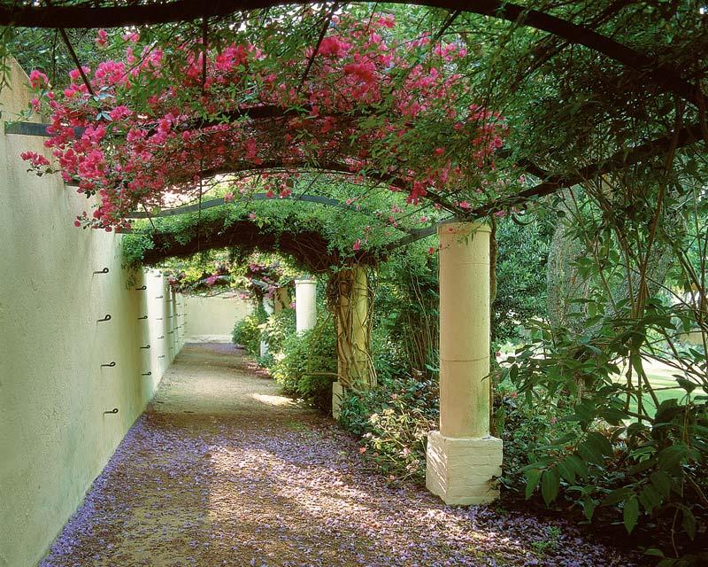 The octagonal garden- photo supplied by Vergelegen Estate