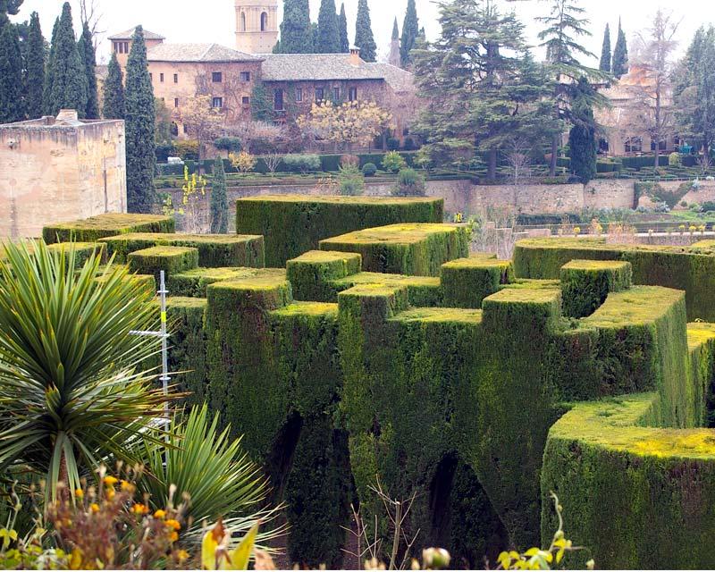 Gardensonline gardens of the world alhambra the for Generalife gardens