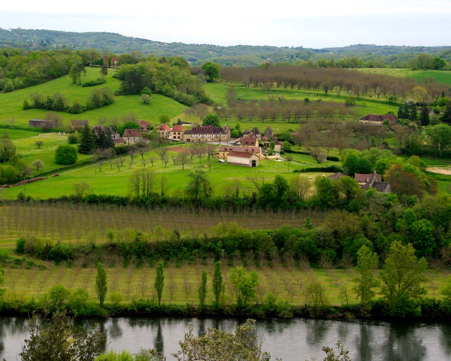 Views of the Dordogne are magnificent from The Gardens of Marqueyssac