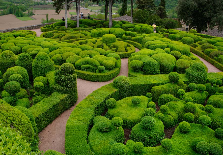 One last look - it is magical  - The Gardens of Marqueyssac