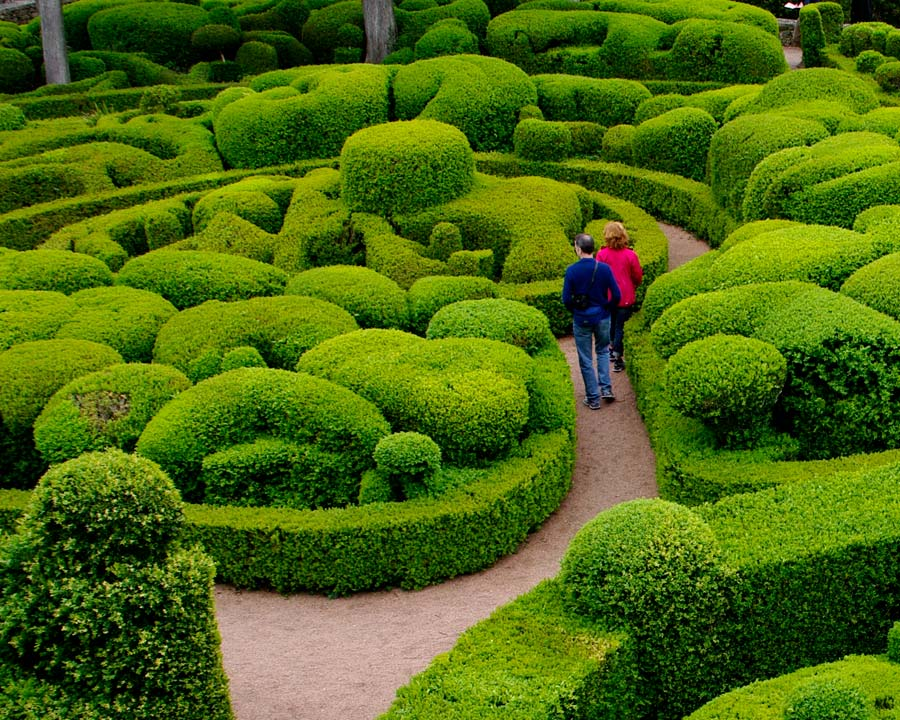 Not so much a maze - as amazing  - The Gardens of Marqueyssac