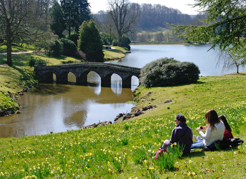 Palladian Bridge - Stourhead Gardens