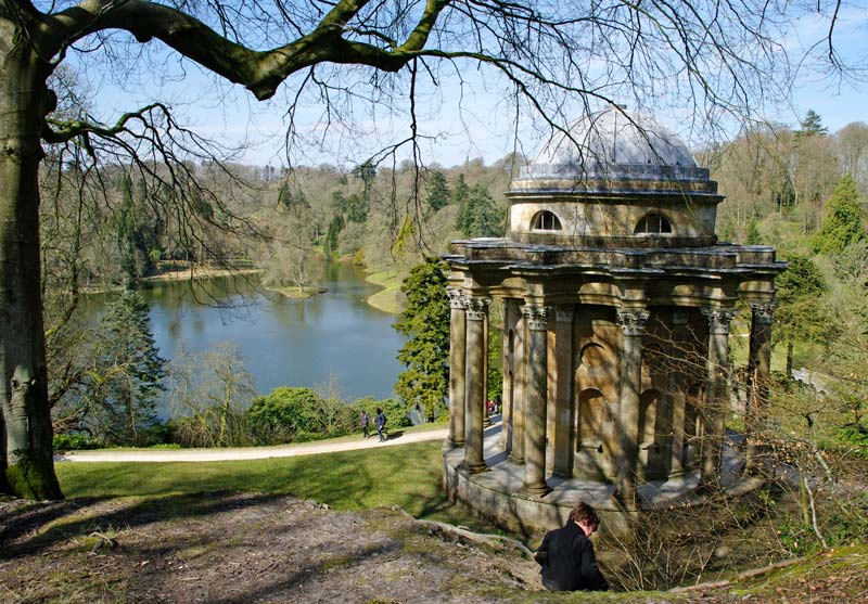 Temple of Apollo - Stourhead Gardens
