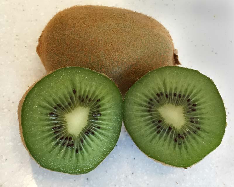 Actinida deliciosa, Chinese Gooseberry or Kiwi Fruit