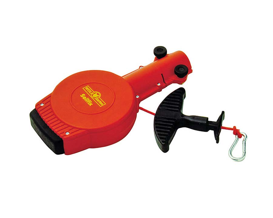 Auto cord spooler