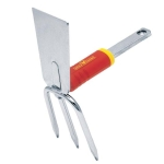 Duo Hoe, 3 tines, straight blade IL-M3 WOLF