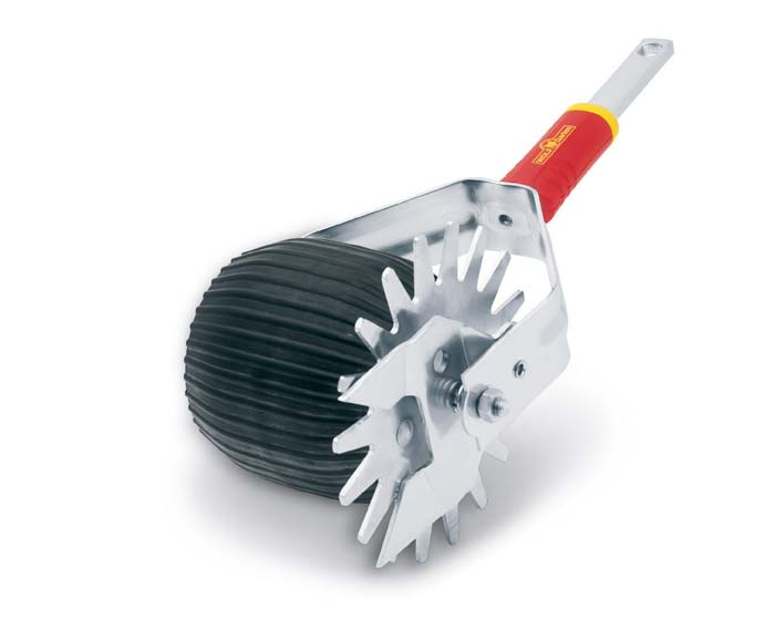 Rotary cut lawn edger for multichange (multistar) handles