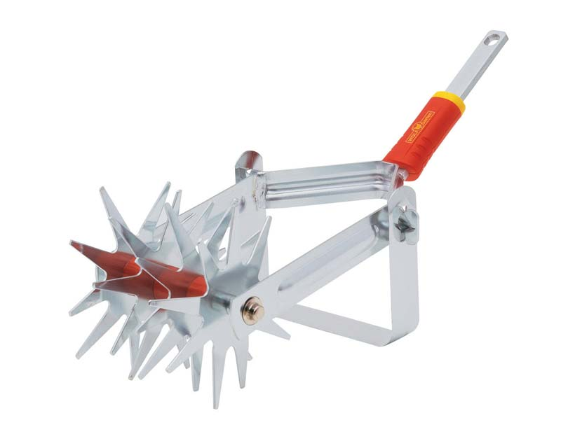 Rotary soil miller for multichange (multistar) handles