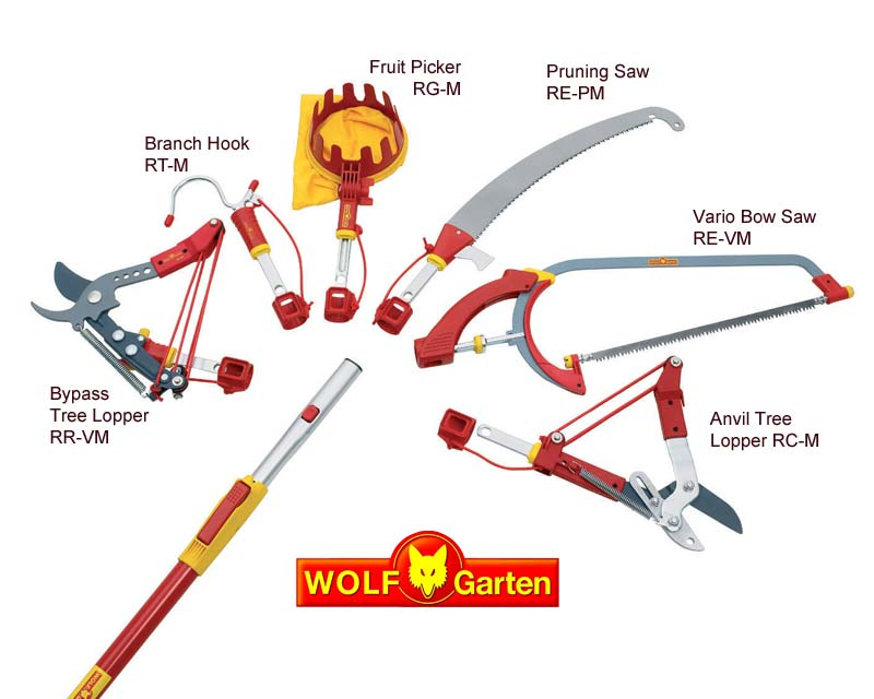 Wolf Multichange one click system perfect for telescopic handles